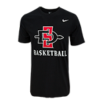 Nike SD Spear Basketball Tee-Black