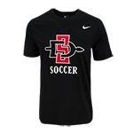 Nike SD Spear Soccer Tee-Black
