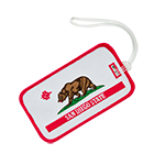 SD Spear California Bear Luggage Tag