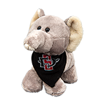 SD Spear Elephant Plush