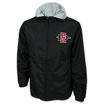 SD Spear Hooded Jacket-Black