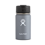 Hydro Flask 12 oz Wide Mouth Flip Lid-Grey