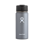 Hydro Flask 16 oz Wide Mouth Flip Lid-Grey