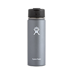 Hydro Flask 20 oz Wide Mouth Flip Lid-Grey