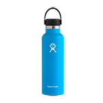 Hydro Flask 21 oz Standard Mouth Flex Cap-Blue