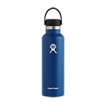 Hydro Flask 21 oz Standard Mouth Flex Cap-Navy