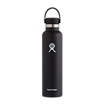 Hydro Flask 24 oz Standard Mouth Bottle-Black