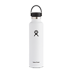 Hydro Flask 24 oz Standard Mouth Bottle-White