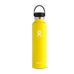 Hydro Flask 24 oz Standard Mouth Bottle-Lemon