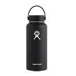 Hydro Flask 32 oz Wide Mouth Bottle-Black