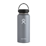 Hydro Flask 32 oz Wide Mouth Bottle-Graphite