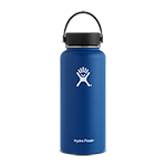 Hydro Flask 32 oz Wide Mouth Bottle-Navy