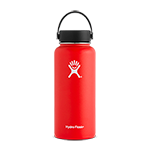 Hydro Flask 32 oz Wide Mouth Bottle-Lava