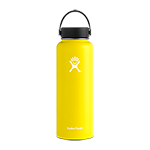 Hydro Flask 40 oz Wide Mouth Bottle-Lemon