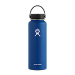 Hydro Flask 40 oz Wide Mouth Bottle-Navy