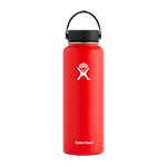Hydro Flask 40 oz Wide Mouth Bottle-Lava