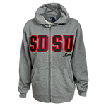 SDSU Mom Sweatshirt-Charcoal