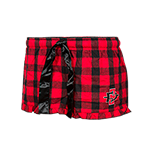 Women's SD Spear Plaid Shorts