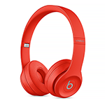 Beats Solo3 Wireless Headphones-Citrus Red