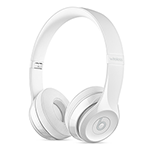 Beats Solo3 Wireless Headphones-Gloss White