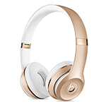 Beats Solo3 Wireless Headphones-Gold