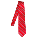 SD Spear Woven Silk Tie-Red