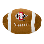 SD Spear Football Plush