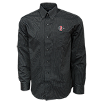 Cutter & Buck Long Sleeve Dress Shirt-Charcoal