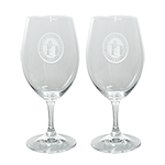 San Diego State University Seal Wine Glass Set