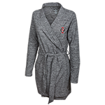 Woman's SD Spear Bathrobe-Charcoal