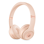 Beats Solo3 Wireless Headphones- Matte Gold