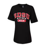 SDSU Aztecs Mom-Black