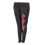 Women's San Diego State Jogger Pants-Charcoal