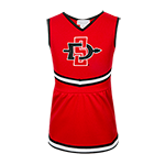 Toddler SD Spear Cheer Dress-Red
