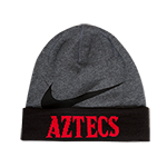 Nike Aztecs Dri Fit Beanie-Charcoal & Black