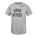Toddler Nike SDSU Aztecs Tee-Gray