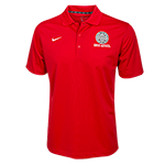 Nike Aztec Calendar Polo-Red