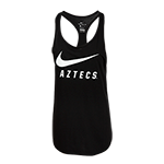 Women's Nike Aztecs Tank-Black