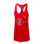 Women's Nike SD Spear Tank-Red