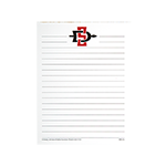 SD Spear Small  Notepad-White