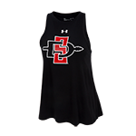 Women's Under Armour SD Spear Tank-Black