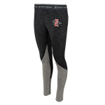 Women's SD Spear Color Block Leggings-Gray