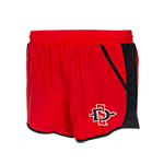 Women's Under Armour SD Spear Shorts-Red