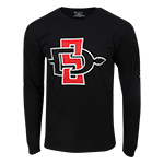 SD Spear Long Sleeve Tee -Black