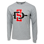 SD Spear Long Sleeve Tee-Gray