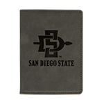 SD Spear Passport Holder-Gray