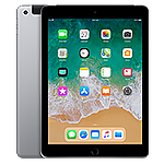 Apple iPad Wi-Fi + Cellular for Apple SIM 128GB- Space Gray