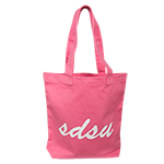 SDSU Canvas Tote Bag-Watermelon
