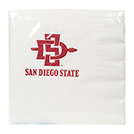 SD Spear Luncheon Napkin Pack-White
