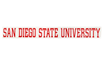 San Diego State University Decal-Clear